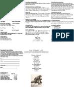 Ravenna Nazarene Bulletin
