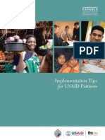 NPI Implementation Tips for USAID Partners