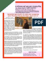 Doongalik Studios February 2014 Art Newsletter