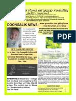Doongalik Studios May 2014 Art Newsletter