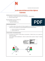 Informe Técnico - MD de Independencia