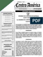 Decreto 7-2013 Ley de CC