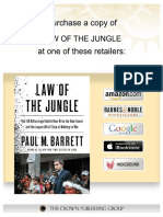 Law of the Jungle by Paul M. Barrett - Excerpt
