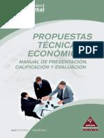 Propuestas Técnicas y Económicas Manual de Presentación, Calificación y Evaluación