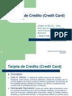 Contratos de Negocios Internacionales (Tarjeta de Crédito y Leasing)