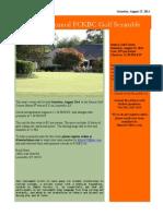 golf scramble flyer2014