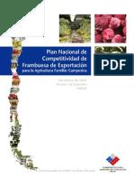 Plan Nacional Frambuesas
