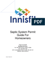 Septic System Permit Guide With App Law Innisfil
