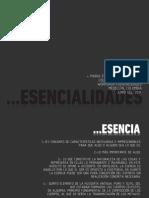 ESENCIALIDADES (V2014)