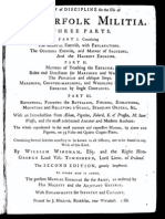 A Plan and Discipline for the Use of the Norfolk Militia. In three parts.