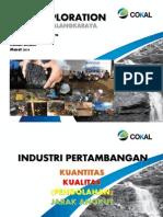 Kuliah Umum Pt.cokal Coal Exploration 15 Maret 2014