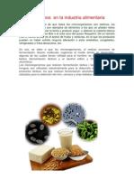 Microrganismos en La Industria Alimentaria
