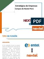 Adquisición de Nextel Por Entel
