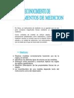 Reconocimiento de Instrumentos de Medicion