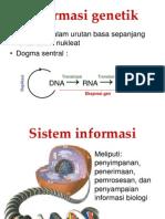 Informasi genetik
