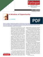 Opportunity in Kashmir