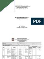 Plan General Fisica i(2)