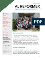 NorCal Reformer 31 (May 23, 2014)
