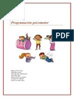 programación psicomotricidad