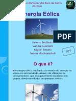 Energia Eólica Powerpoint