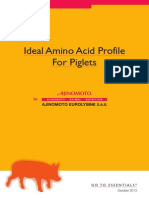 AJINOMOTO 2013 Ideal Amino Acid Profile for Piglets