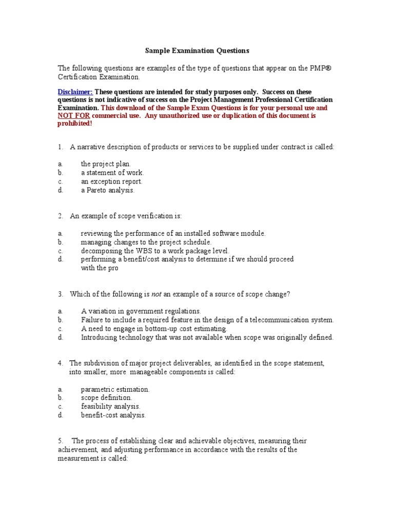 Pmitestquestions Business Business Economics