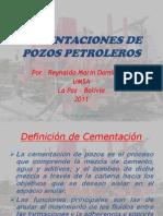 Cementaciones de Pozos Petroleros