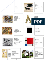 Art History Sheet 2 Test 2