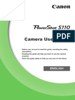 PowerShot S110 Camera User Guide