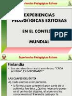 EXPERIENCIAS PEDAGÓGICAS - DIAPOSITIVAS