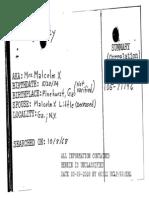 Betty Shabazz FBI file