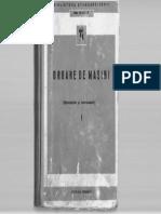 Organe de Masini-Vol I