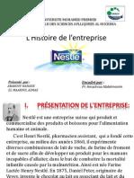 Histoire de l'Entreprise Nestlé