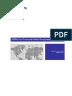 Hspa for Enhanced Mobile Broadband Whitepaper
