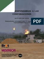 ECCHR, Making Respond Es -Hacer Responsables 2013