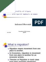 Female Migration in Tripura