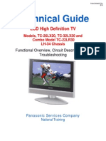Tv Panasonic TC 26LX20 TC 32LX20 TC 22LR30 Chassis LH 34 LCD Tv Training Manual