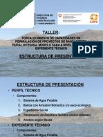 Estructura de Presentación Propuesta