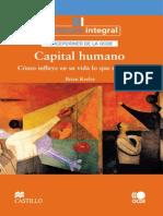 Capital Humano y Calidad de Vida-OECD