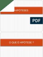 Hipoteses (Aula 06)