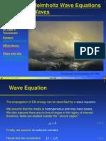 Lecture 07 Helmholtz Wave Eqn