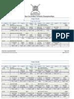 2014 CSSRA Friday results