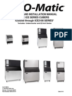 ServiceManual Ice o Matic 0320fa4 180 Kg Dia