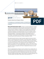 A Premium for Good Governance - Roberto Newell&G Wiilsn