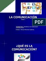 Clase I La Comunicación
