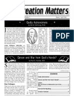 Creation Matters 1999, Volume 4, Number 2