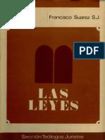 Francisco Suarez - Las Leyes - Libro V - espanhol