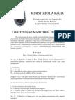 Constituição Ministerial