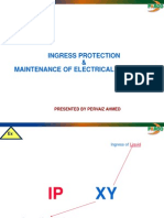 Ingress Protection & Maint in Hazard Area