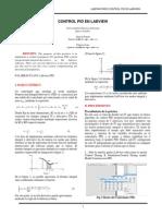 Control PID en Labview